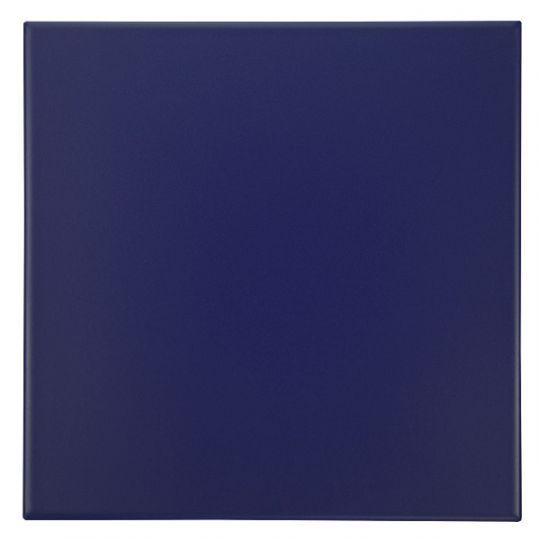 carrelage 20x20 cobalto bleu fonce mat