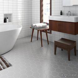 carrelage 11 6x10 1 tomette hexagon grey