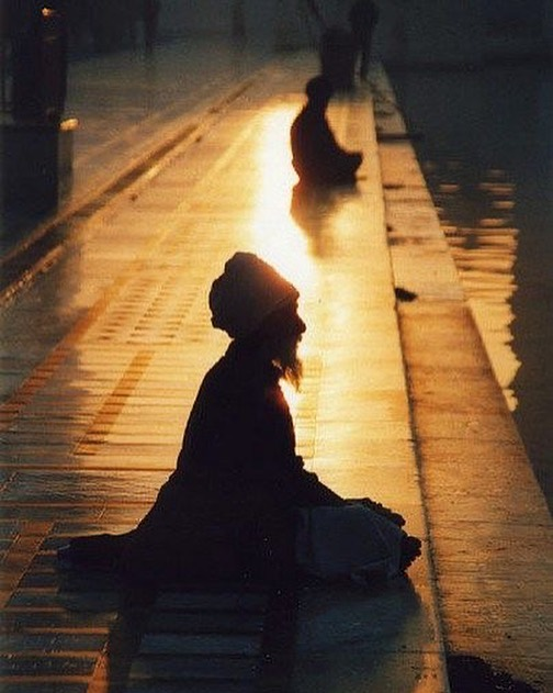 Taoista meditando