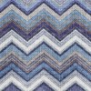 "GUARDANAPO ""TEXTURED CHEVRON BLUE""-33X33CM"