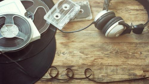 A música mais cara de hoje é gravada em mídias do passado