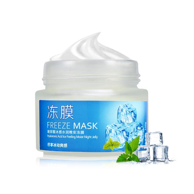 Bioaqua Freeze Mask Acido Hialurónico Hidratante Nutre