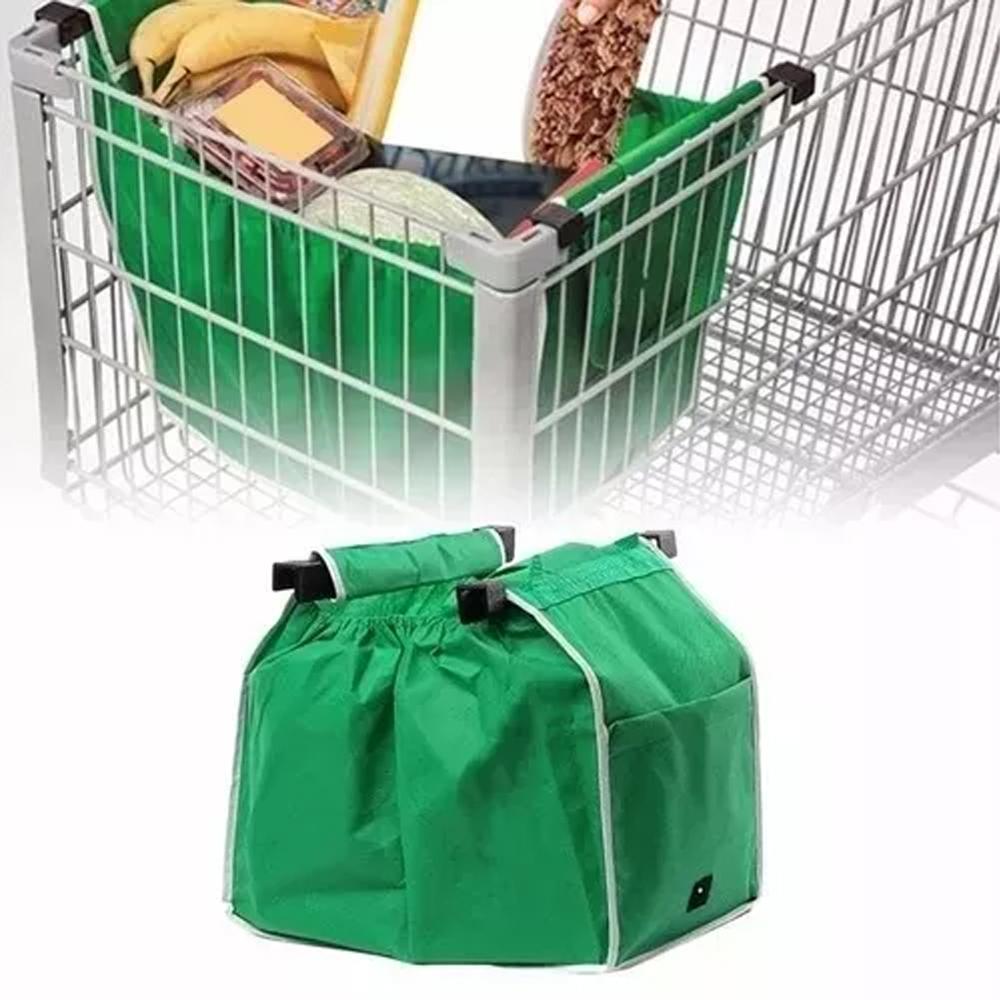 Bolsa Ecológica Para Carrito De Supermercado Práctica Reutilizable
