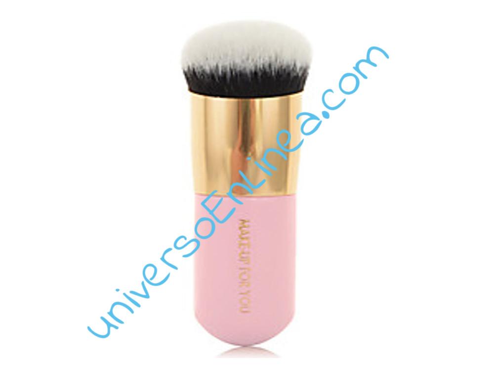 Brocha Kabuki La Mejor Maquillaje Mineral Compacto