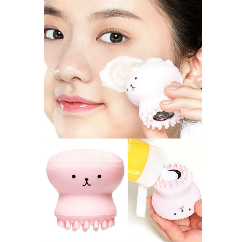 Etude House Cepillo Exfoliante Limpieza Facial Silicona Puntos Negros