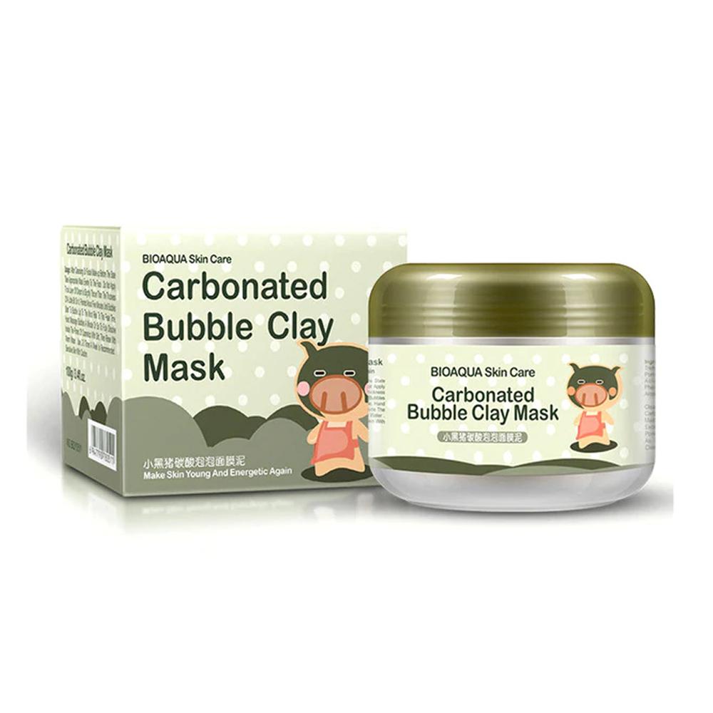 Carbonated Bubble Clay Mask Bioaqua Mascarilla De Arcilla