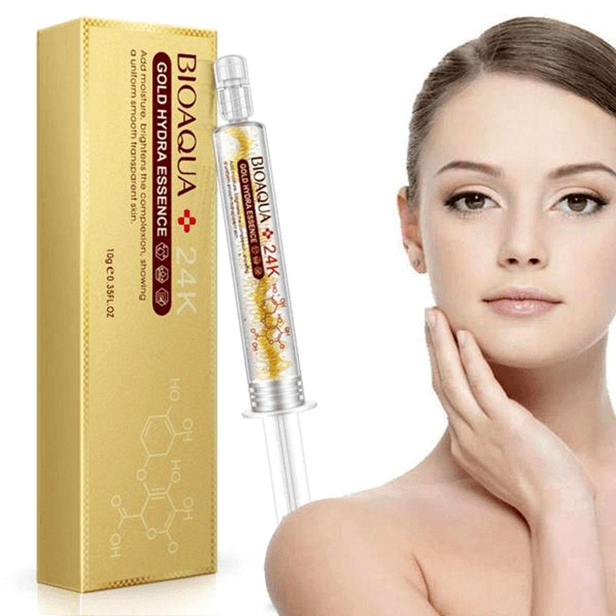 Bioaqua 24k Gold Essence Acido Hialuronico Colageno 1 Pza