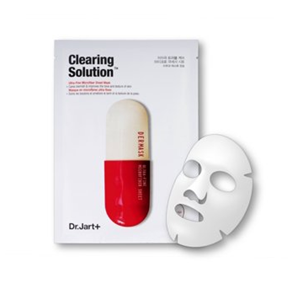 Dr Jart+ Mascarilla Clearing Solution Aclarante Unifica Tono