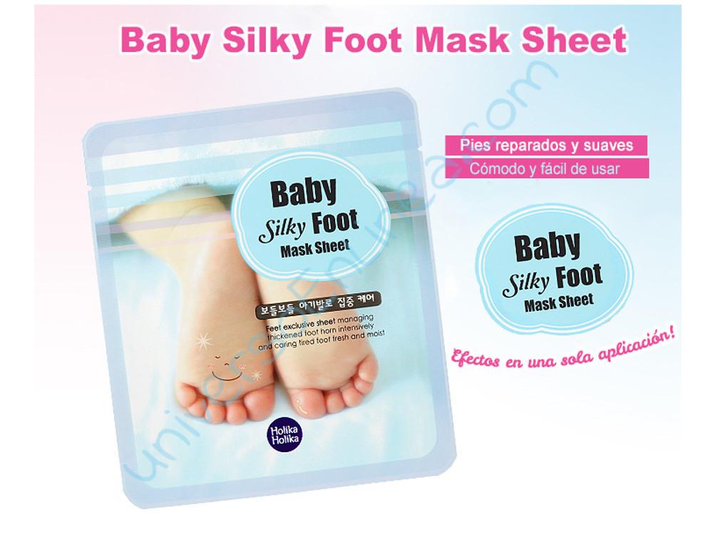Holika Holika Baby Silky Foot Mascarilla