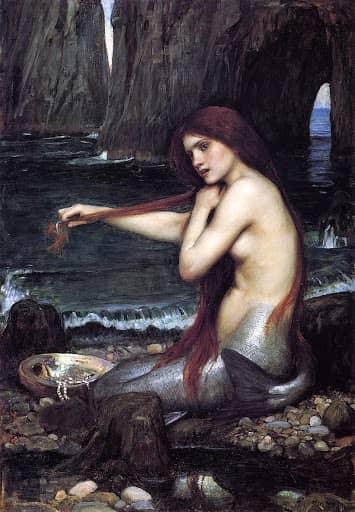 origen-sirenas-mermaid-waterhouse-cola-de-pez