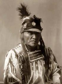 Crow-Indian-with-Fur-Hat