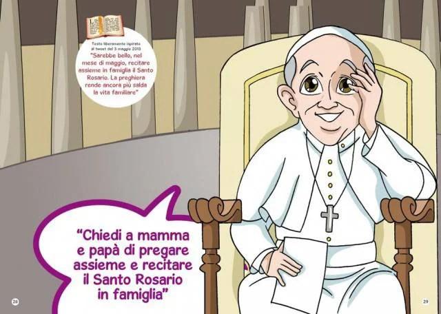 Papa Francesco insegna ai bambini