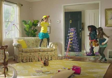 ragazzine che giocano a fare gli ingegneri