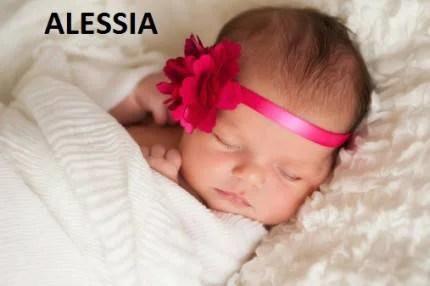 Alessia nome