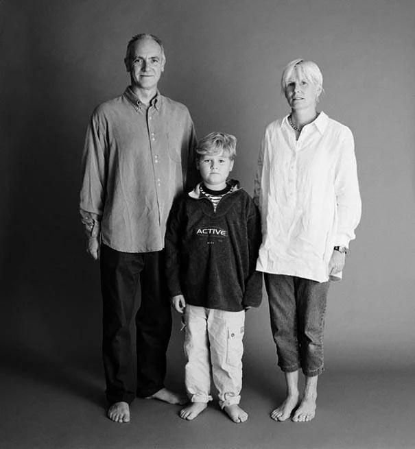la famiglia fotografata da nelson