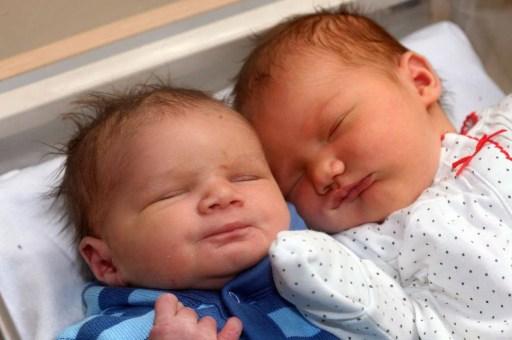 gemelli figli di gemelle