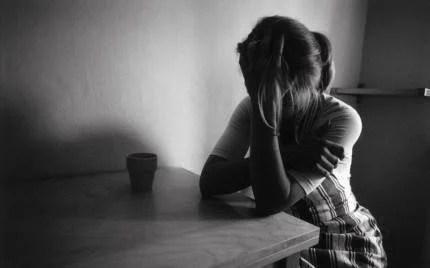 donna in crisi