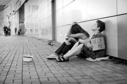 ragazzi senzatetto