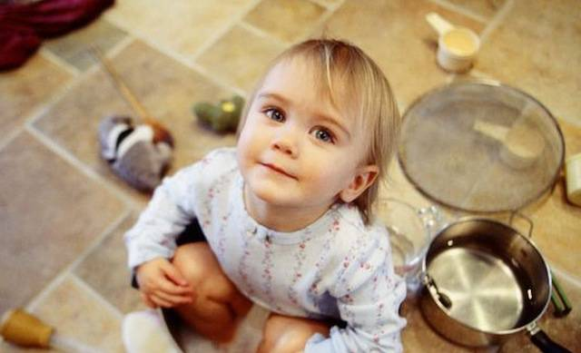 case sporche bambini no allergia