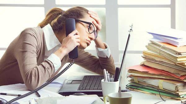 stress alla scrivania