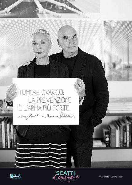 Donata e Massimiliano Fuksias