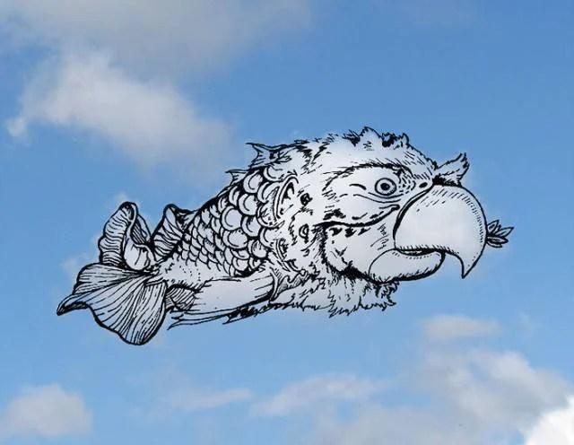 pesce nuvola