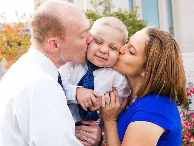 Ethan van lauten con famiglia