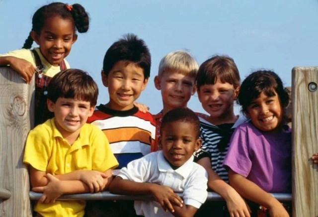 gruppo bambini