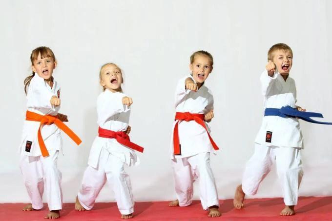 bambini karate