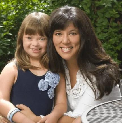 mamma e figlia con sindrome down
