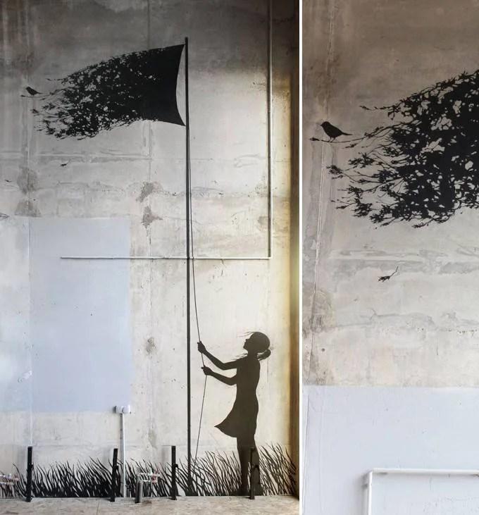murales di un artista spagnolo