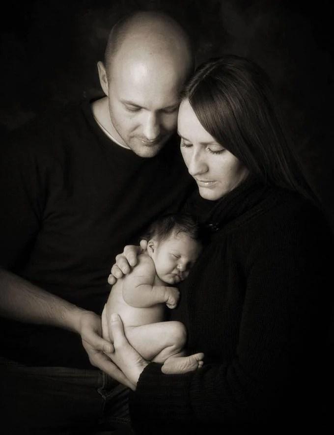famiglia con bambino