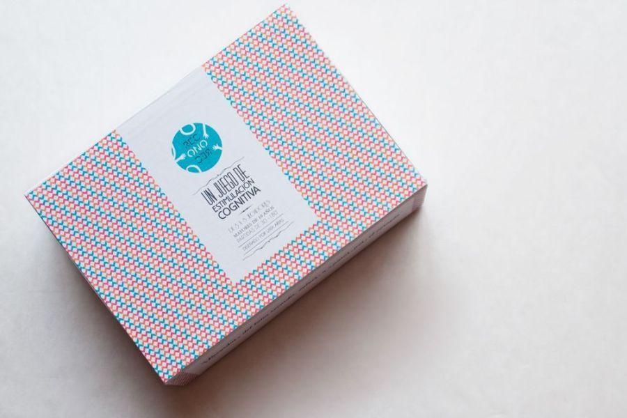 packaging reconocer, un juego de estimulación cognitiva