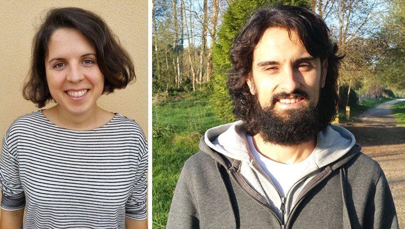 Silvia y Sergio de V de Vegetal
