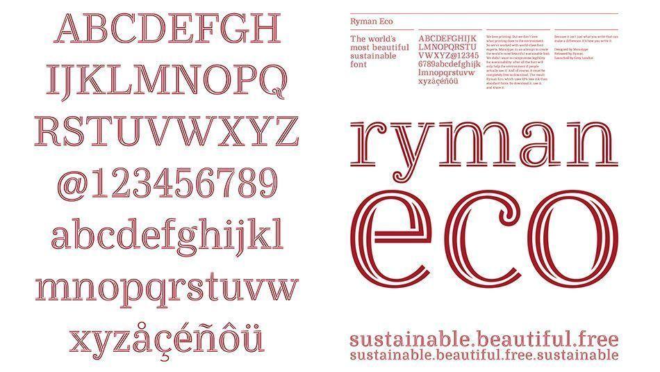 Ryman eco, la fuente sostenible más bonita del mundo