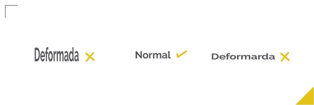 Errores tipográficos, deformar