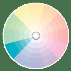 paleta monocromática azul