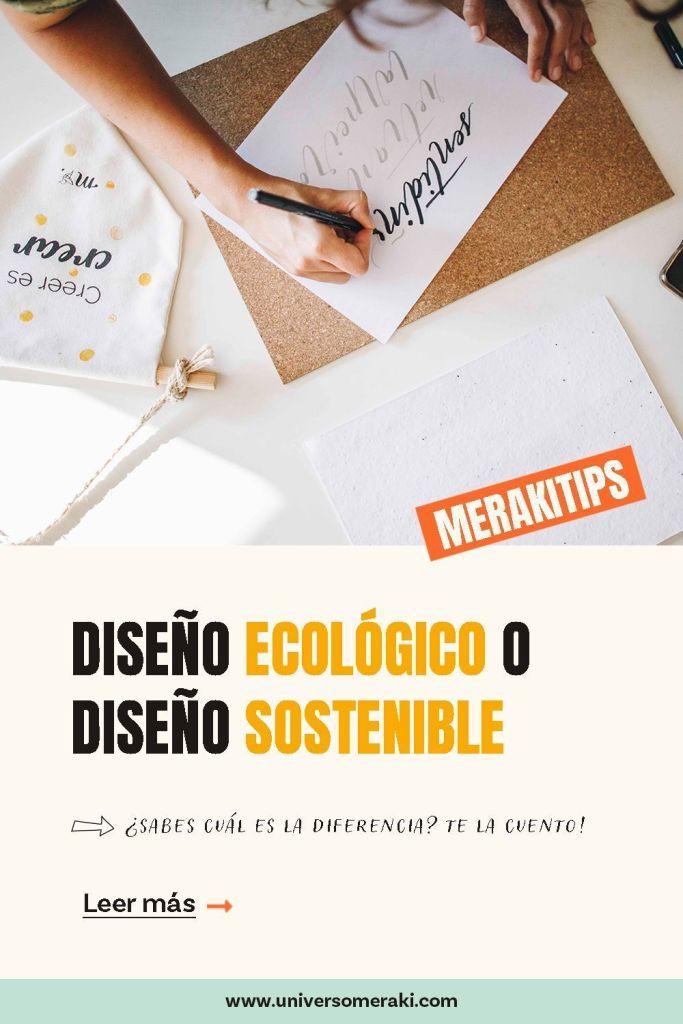Diseño ecológico o diseño sostenible