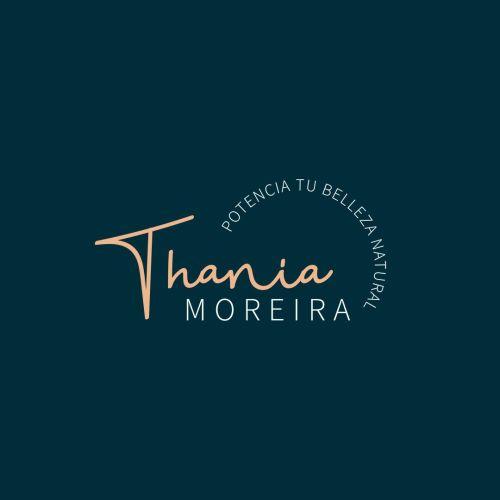 Logomarca secundaria thania moreira, fotografía destacada