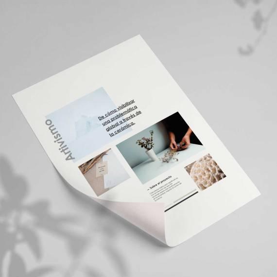 Moodboard hollymara, diseño web.