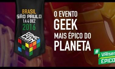 CCXP principal - Estaremos Na Comic Con Experience 2016!