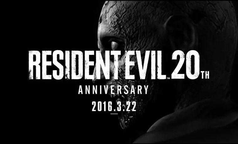 Feliz 20ª Aniversário Resident Evil! (Parte 1)