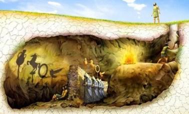 alegoria caverna - Alegoria Da Caverna: Rompendo As Barreiras Do Mundo Sensível