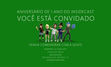 insidecast aniversario 1ano 1 - Especial: Aniversário De 1 Ano Do Insidecast!