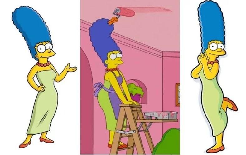 """Marge 300x188 - Os Simpsons De """"A"""" À """"Z"""": Uma Breve Introdução, Personagens Principais E Curiosidades"""