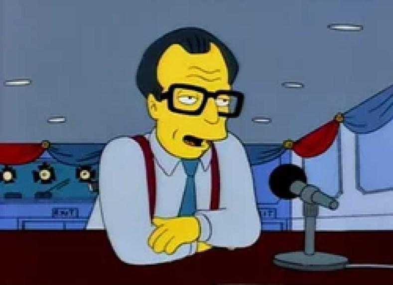 """larry king - Os Simpsons de """"A"""" À """"Z"""": Paródias De Filmes, Personalidades Famosas, Personagens E Curiosidades (Parte 6)"""