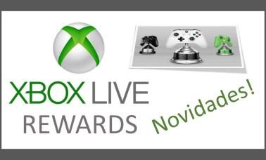 Capa Xbox Live Rewards - Xbox Live Rewards Fácil… Conheça As Novidades Do Programa De Fidelidade Para O Xbox