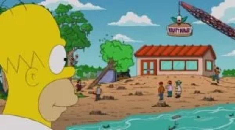 """krusty na amazonia 300x167 - Os Simpsons de """"A"""" À """"Z"""": Paródias De Filmes, Referências Ao Brasil E Curiosidades (Parte 9)"""