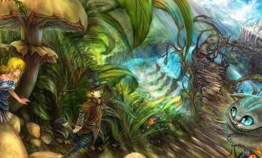 CAPA 3 - Alice No País Das Maravilhas Em Quadrinhos - Uma Viagem Alucinante E Fantástica!