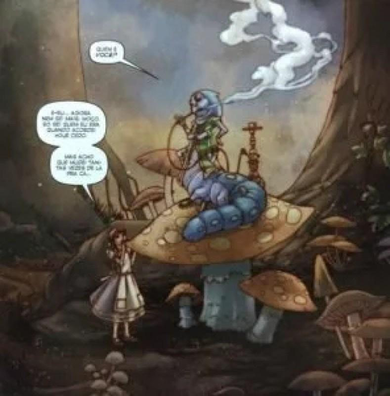Figura 3 296x300 - Alice No País Das Maravilhas Em Quadrinhos - Uma Viagem Alucinante E Fantástica!